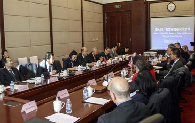 中美双方将进一步推动双边禁毒合作务实发展
