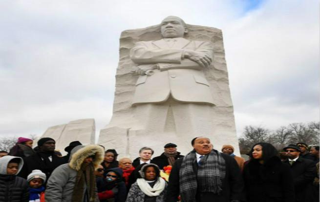 美国举办活动纪念马丁·路德·金