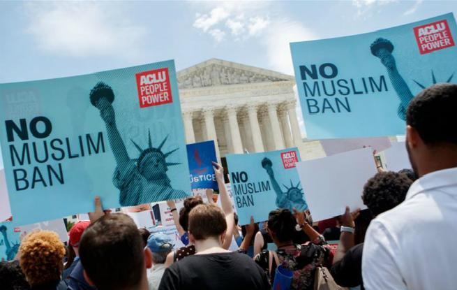 美联邦最高法院裁定特朗普颁布移民限制令合法
